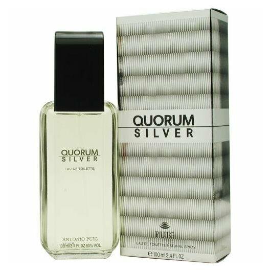 Antonio Puig - Quorum Silver (100ml) - EDT