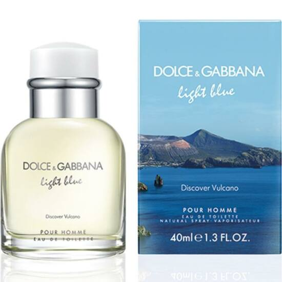 Dolce & Gabbana - Light Blue Discover Vulcano (40ml) - EDT