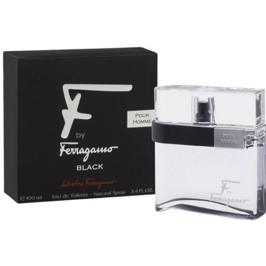 Salvatore Ferragamo F by Ferragamo pour Homme Black EDT 100ml Tester