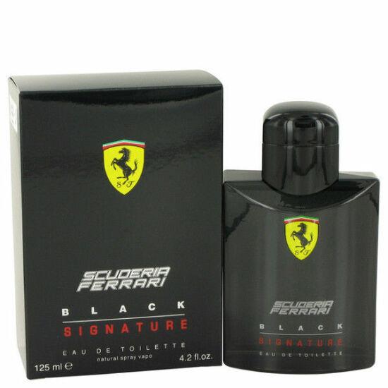 Ferrari Black Signature EDT 125ml Tester